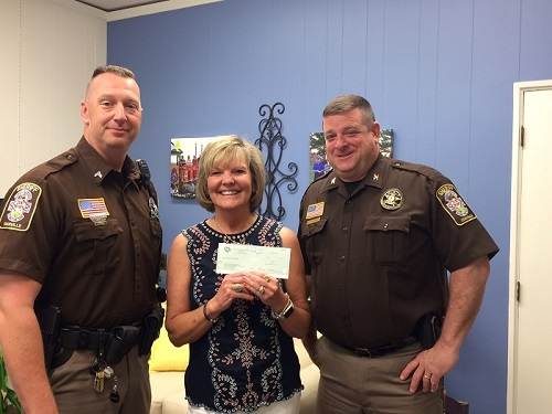 Hughes Foundation Donates to Torch Run